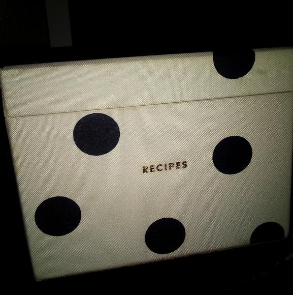 Kate spade receipt box